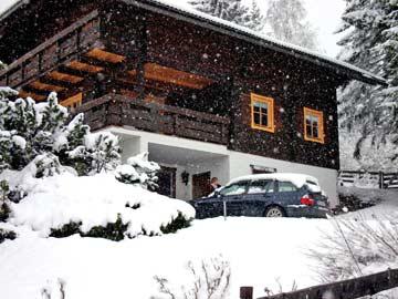Ferienhaus Bad Kleinkirchheim - nur 200 m von Talstation und Skipiste entfernt