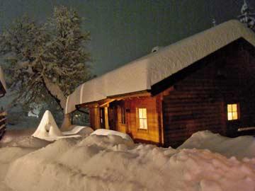Ferienhaus Mölltal - Skiurlaub in unserem Massivholzhaus am Fuße des Mölltaler Gletschers