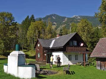 Ferienhaus Hinterstoder für den Sommerurlaub
