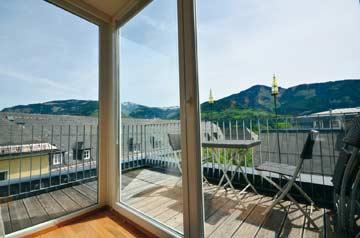 Herrlicher Sonnenbalkon im Appartement Zell am See