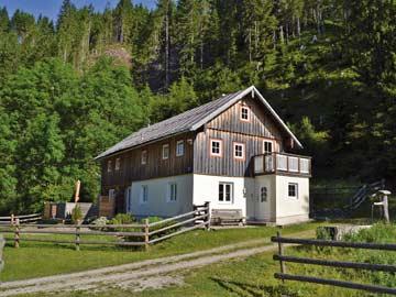 Ferienhaus Annaberg-Luingötz im Sommer