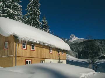 Ferienhaus Annaberg-Lungötz mit tollem Blick zur Bischofsmütze