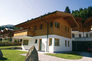 das Chalet Saalbach-Hinterglemm im Sommer