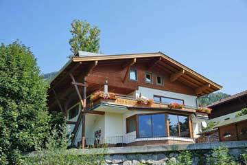 Ferienhaus Kitzsteinhorn im Sommer