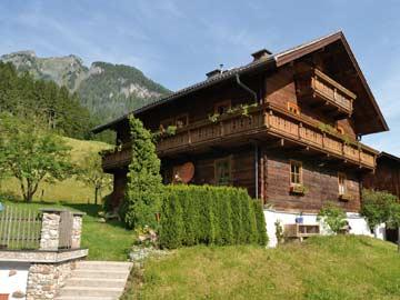 Hütte Großarl im Sommer