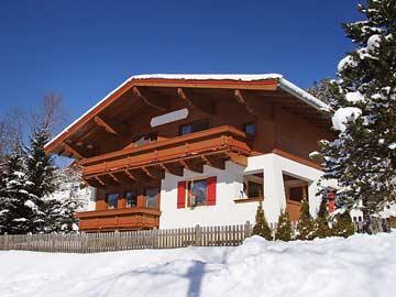 Ferienhaus Pass Thurn - im Winter