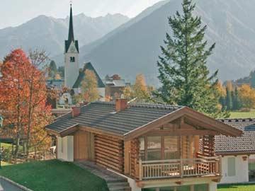 das Chalet Pinzgau im Sommer
