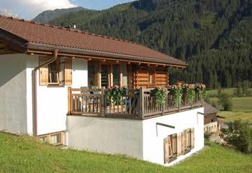 Chalet Wald im Pinzgau - Komfortabler Sommerurlaub in den Bergen (Winterbild)