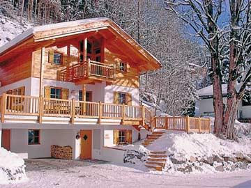 Ferienhaus mit Sauna in Wald-Königsleiten