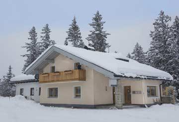 Ferienhaus Hochkrimml auf der Passhöhe