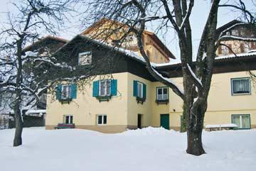 Ferienhaus St. Johann Ski Amadé - Hausansicht Winter