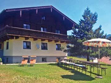 Ferienhaus Grossarl im Sommer