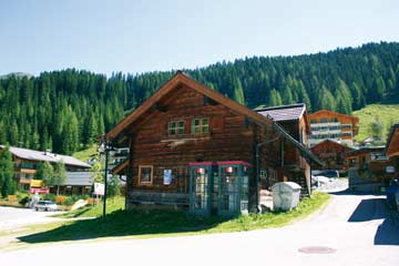 Hütte Zauchensee im Sommer