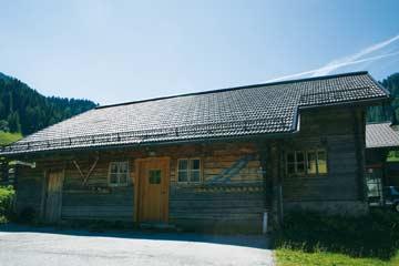 die Skihütte Zauchensee im Sommer