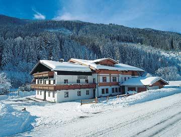 Gruppenhaus Saalbach für den Winter am Talboden