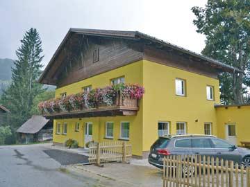Berghütte Schladming (bei einem kurzen kräftigen Sommerregenschauer...)