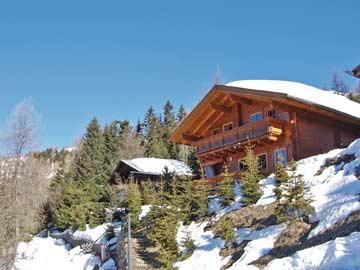 die Skihütte in Lienz im Frühling
