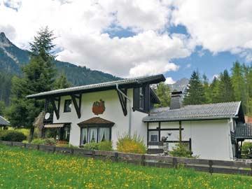 Ferienhaus Reutte für den Sommerurlaub mit Grillhütte