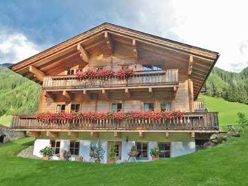 Ferienhaus in Außervillgraten im Sommer