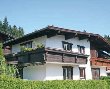 Ferienhaus Ellmau im Sommer