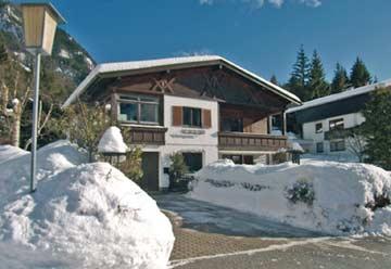 Ferienhaus Maurach am Achensee im Winter