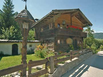 das Chalet Alpbach im Sommer