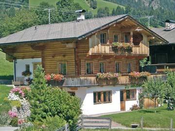 Ferienhaus Alpbach im Sommer