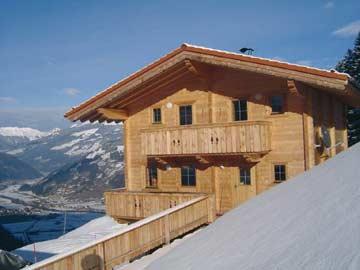 Ferienhaus Mayrhofen in Alleinlage auf 1000 m Höhe