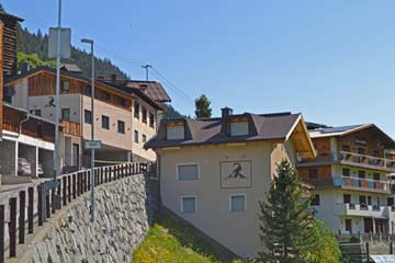 Ferienhaus Kappl bei Ischgl im Sommer