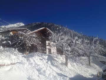 Ferienhaus Kappl - Winteransicht