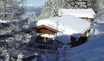 Skihütte Zell - Hüttenurlaub am Gerlosstein