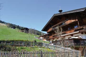 Ferienwohnung Inneralpbach (Hausansicht Sommer)