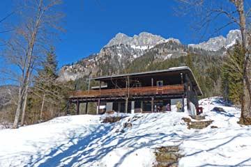 Ferienhaus Nesselwängle - Wintermärchen im Tannheimer Tal