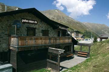 Hütte Kühtai - Bergerlebnis in 2000 m Höhe