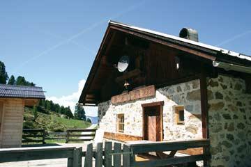 die Selbstversorgerhütte Ötztal im Sommer