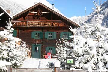 Ferienhaus Niederthai - idyllischer Winterurlaub im Ötztal