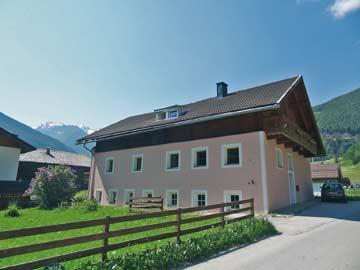 Ferienhaus Kals am Großglockner im Hochsommer