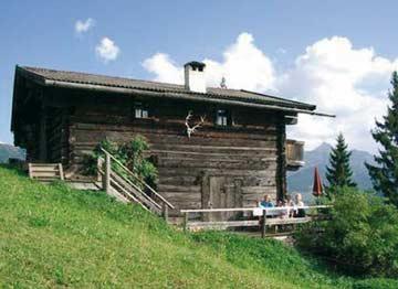 Hütte Alpbach - traumhafte Hüttenferien in Tirol (Terrasse inzwischen komplett überdacht und mit gemauertem Grill)