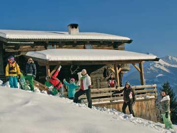 Hütte Alpbach -  direkt an toller Rodelstrecke und im Wandergebiet