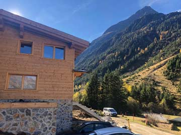Skihütte Pitztal (im Sommer)