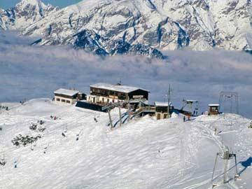 Skihütte Axamer Lizum - herrliche Lage direkt im Skigebiet