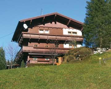 Ferienhaus Hintertux im Sommer
