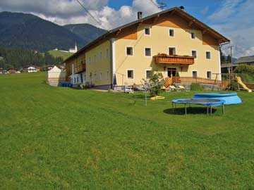 Gemütliches Familien-Ferienhaus in Sillian im Sommer