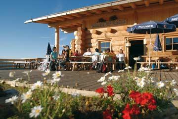 Skihütte Hochoetz - im Sommer