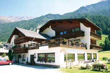 Ferienhaus St. Leonhard im Pitztal (im Sommer)