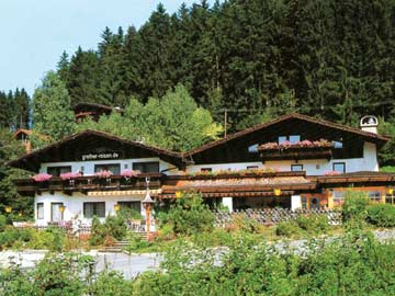 Grupenhaus Kitzbühel im Sommer