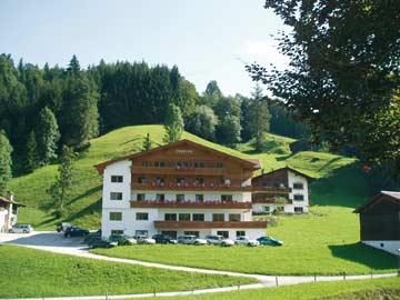 Gruppenhaus Wildschönau im Sommer