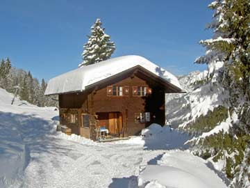 Skihütte Golm - Skiurlaub im Montafon, direkt an der Skipiste