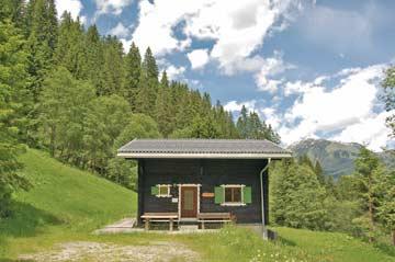 Ferienhaus Gargellen - gemütlicher Hüttenurlaub im Montafon