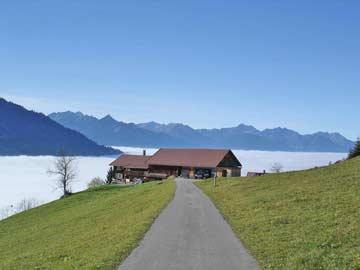 Ferienhaus im Walsertal - Sommerurlaub über der Nebelgrenze